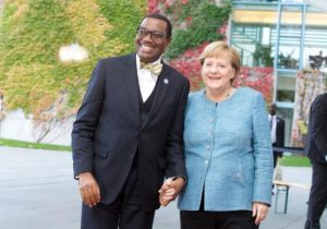 """""""Chancellor Merkel your name is written in gold in Africa"""": African Development Bank's Adesina to stakeholders at G20 Investment Summit, Germany"""