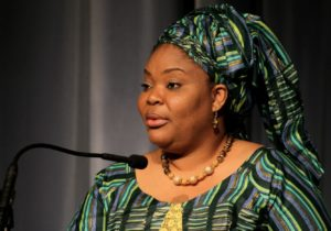 """""""I believe the future of Africa is female"""" Nobel Peace Prize co-laureate Leymah Gbowee tells conference"""