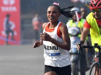 Ethiopian Worknesh Alemu sets fastest-winning time for women in Mumbai Marathon
