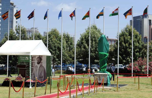 President Ramaphosa attends unveiling of former Ethiopian emperor Haile Selassie's statue in Addis Ababa